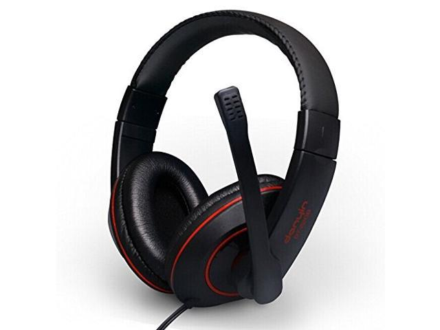 Somic Danyin Dt-2208 Headband Wired Headset Computer Game Video Music Headphone with Microphone Black Color