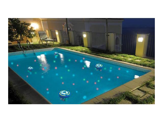 Go Everywhere Light Show - Color changing light for patio, pool or home