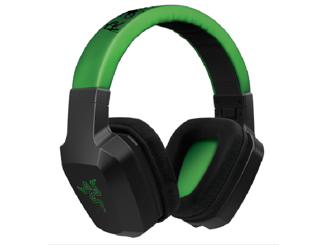 Gaming Headset Razer Electra Expert Gaming Headphones Headband Overear Black &Green PC Computer Dota 2