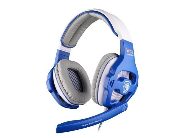 Sades WCG 7.1 Surround Sound Souvenir Edition Word WCG Game Clan Offical Headphone Gaming Headset with Mic