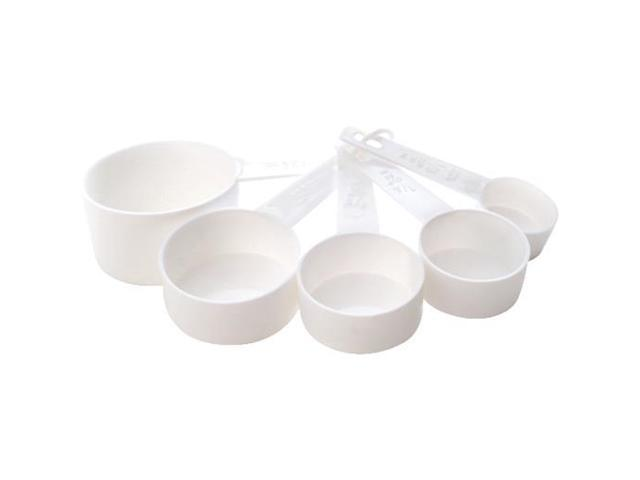 5PC WHITE MEASURING CUP 3044W