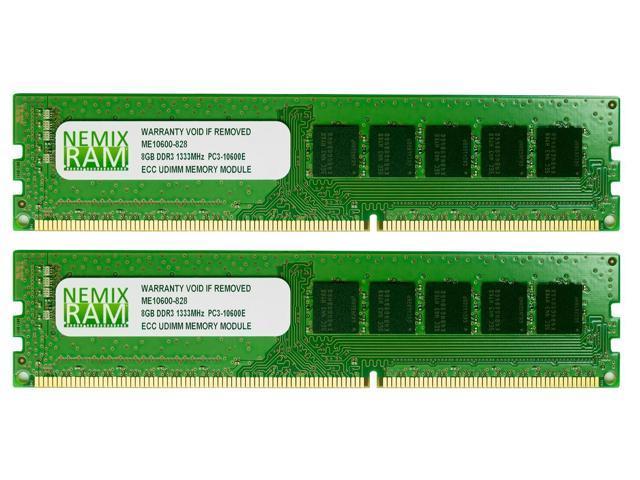 NEMIX RAM 16GB (2X8GB) DDR3 1333MHz PC3-10600 ECC Memory for APPLE Mac Pro 2010 2012 5,1