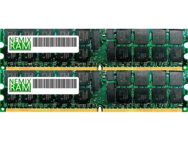 NEMIX RAM 32GB (2 x 16GB) DDR3-1600MHz PC3-12800 240-pin 1.35V 2Rx4 ECC Registered Server Memory Module