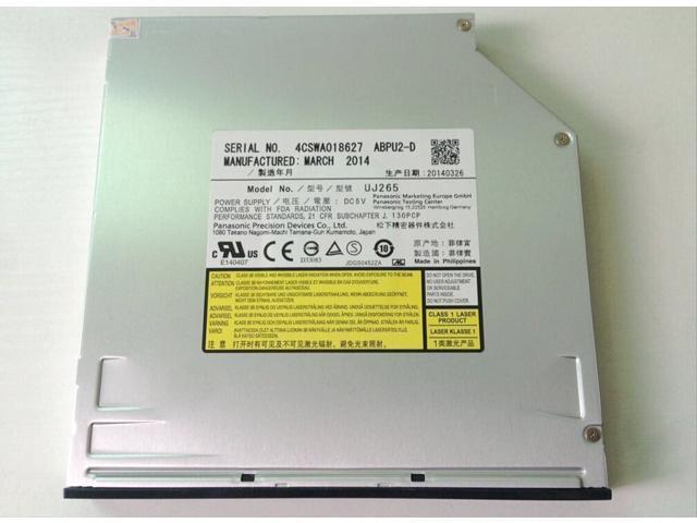 New Panasonic UJ265 6X Internal SATA Slot Load Blu-ray Burner Player BD-R BD-RE BDXL