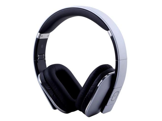 August EP650S Bluetooth Wireless Stereo NFC Headphones – Over Ear Cordless Headset with 3.5mm Wired Audio In, Rechargeable Battery, NFC ...