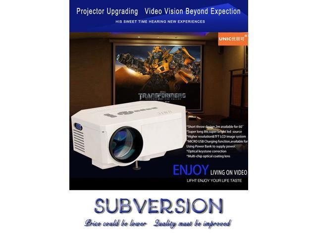 Newest Mini LED Projector Full HD 1080P 3D Home Theater Projector Home Cinema For Video Games TV Movie Support HDMI VGA AV