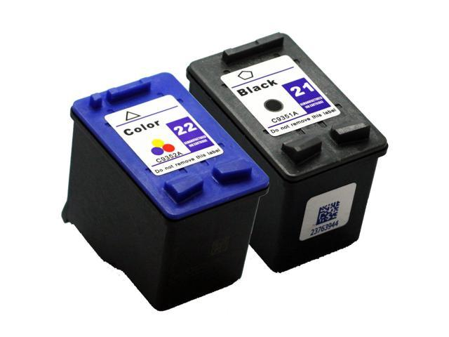 SL 2 pk HP 21 22 Ink Cartridges HP21 HP22 C9351AN C9352AN