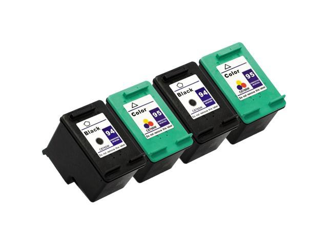 SL 4 pk HP 94 95 Ink Cartridges HP94 HP95 C8765W C8766W