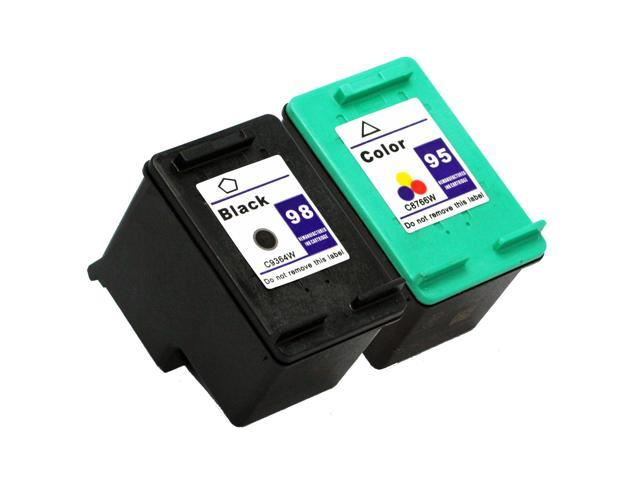 SL 2 pk HP 98 95 Ink Cartridges HP98 HP95 C8764W C8766W
