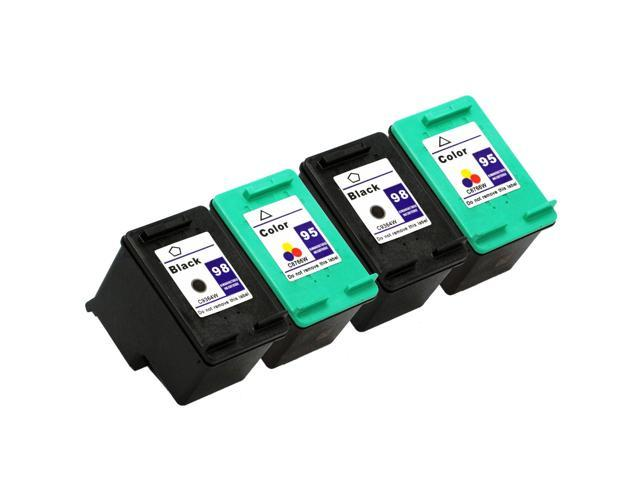 SL 4 pk HP 98 95 Ink Cartridges HP98 HP95 C8764W C8766W
