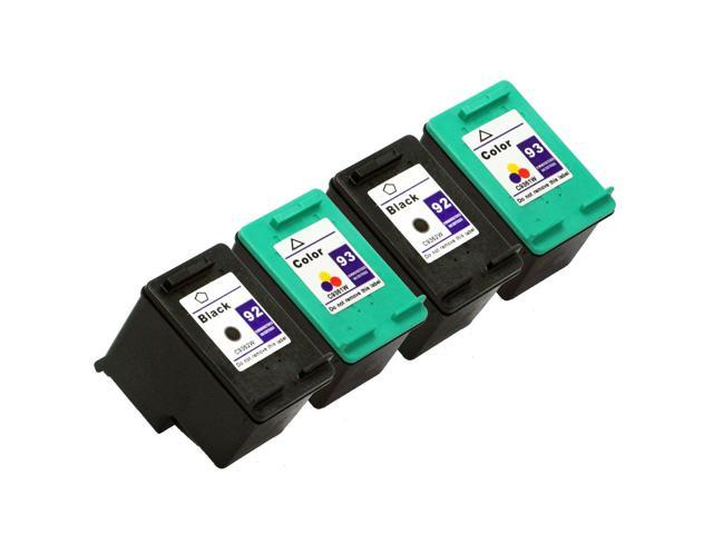 SL 4 pk HP 92 93 Ink Cartridges PSC 1510v 1510xi 1507 1510
