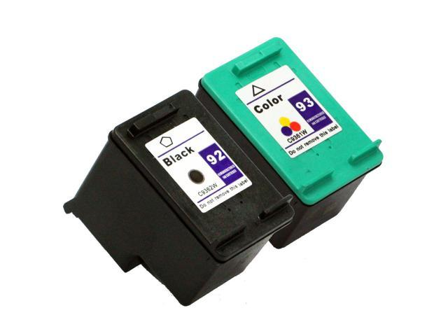 SL 2 pk HP 92 93 Ink Cartridges PSC 1510v 1510xi 1507 1510