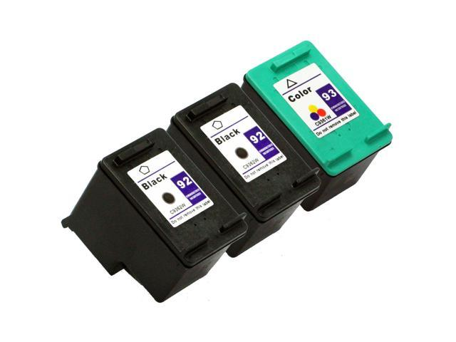 SL 3 pk HP 92 93 Ink Cartridges HP92 HP93 C9362W C9361W