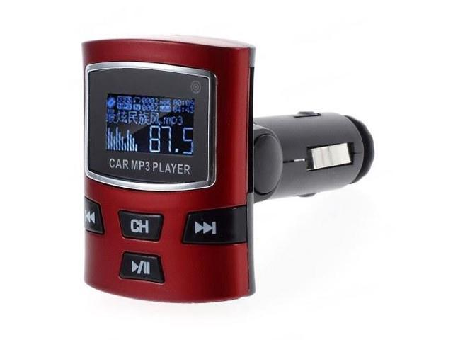 Car MP3 Player FM Transmitter with Remote Control Support U Disk & SD/MMC Card