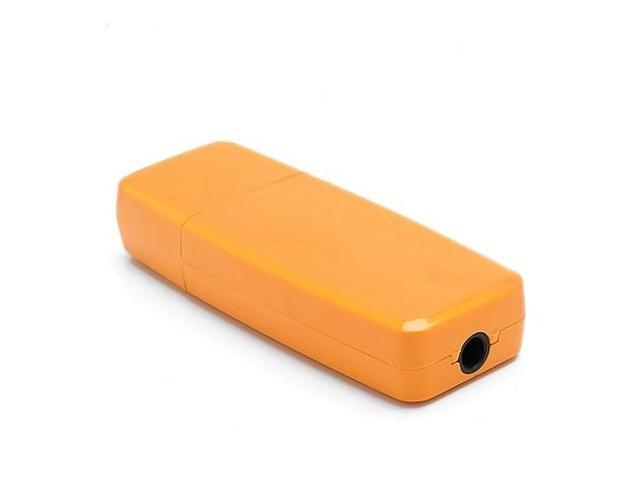 Hot 3.5mm USB Wireless Bluetooth Stereo Music Receiver for iPhone iPad PC Speaker - Orange