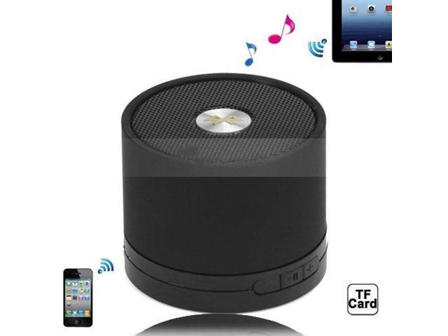A102 Portable Hi-Fi Multimedia Bluetooth Speaker for iPad iPhone iPod Android Windows Smartphone - Black