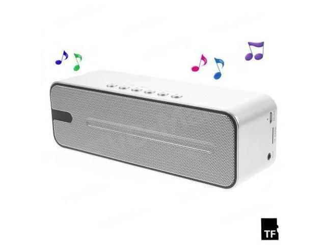 K3 Cuboid Handsfree Bluetooth Speaker, Support FM Radio / AUX / TF Card - Silver