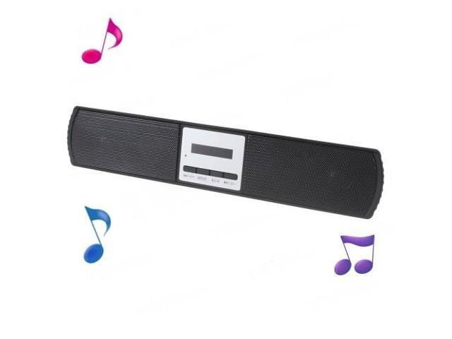 B-13U Stereo Wireless Bluetooth Speaker w/ Microphone for iPhone Samsung HTC - Black