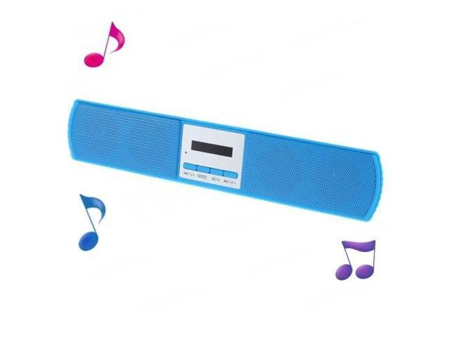 B-13U Wireless Bluetooth Stereo Speaker w/ Microphone for iPhone Samsung HTC - Blue