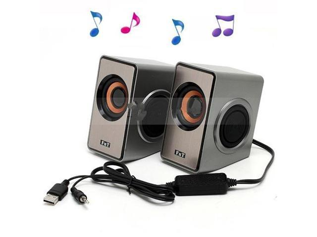 USB Powered Speaker for PC Notebook MP3 Smartphones (GL-2048)