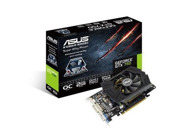 ASUS GTX750-PHOC-2GD5 NVIDIA GeForce GTX 750 2GB graphics card