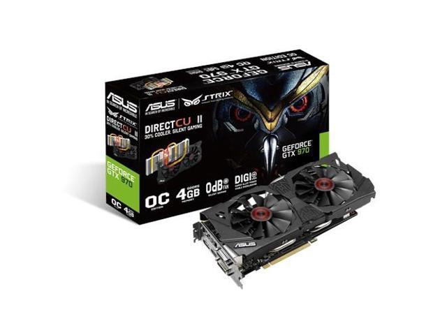 ASUS STRIX-GTX970-DC2OC-4GD5 NVIDIA GeForce GTX 970 4GB graphics card