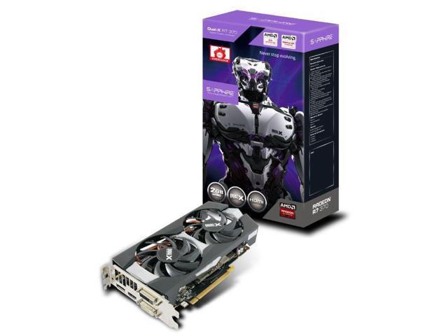 Sapphire 11240-06-20G AMD Radeon R7 370 2GB graphics card