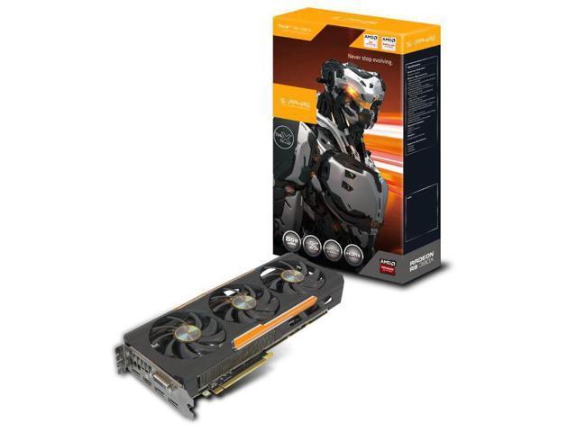 Sapphire 11241-00-20G AMD Radeon R9 390X 8GB graphics card
