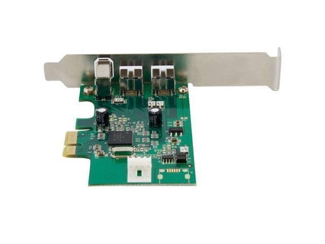 StarTech 3 Port 2b 1a 1394 PCI Express FireWire Card Adapter