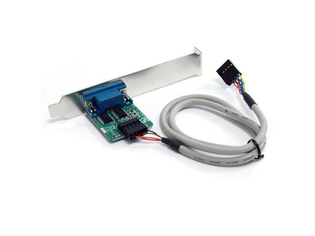 StarTech 24in Internal USB Motherboard Header to Serial RS232 Adapter