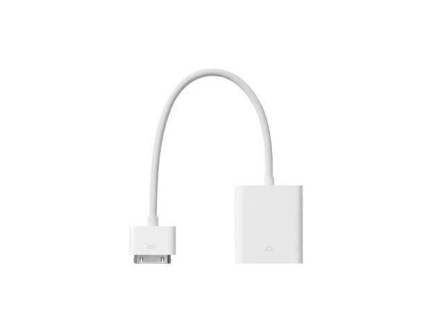 Apple Dock Connector to VGA Adapter (MC552ZM/B)