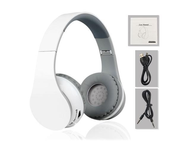 Wireless & Wired Bluetooth 4.0 Foldable Stereo Headsets with Microphone