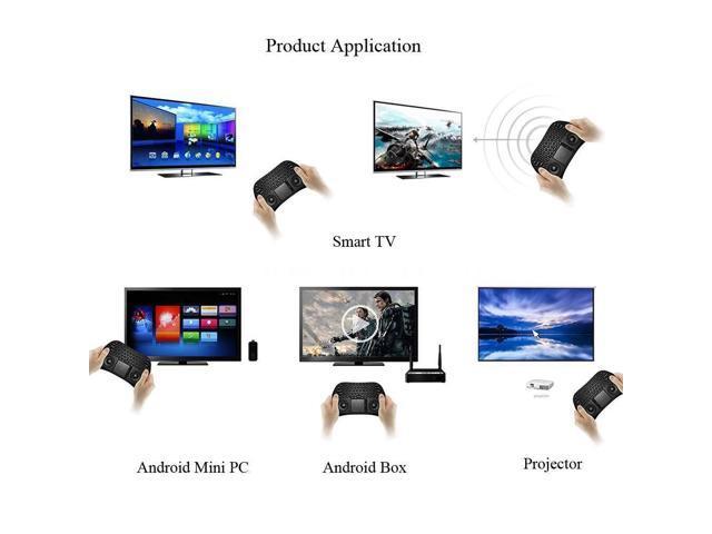 Measy GP800 QWERTY 79 Keys 2.4GHz Wireless Keyboard F TV box PC Laptop Exquisite