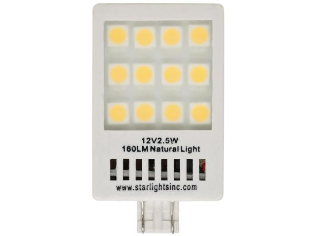 New Starlights Revolution 921-160 NL LED Replacement Light Bulb - White By:CE