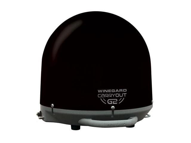 New Winegard Carryout G2 Automatic Portable Satellite Antenna, Black By:CE