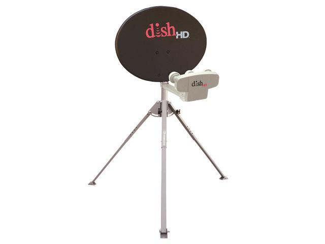 New Winegard DISH 1000 Portable Satellite Antenna with Tripod By:CE
