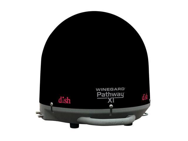 New Winegard Pathway X1 Portable Satellite Antenna, Black By:CE