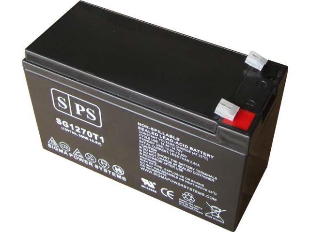 SPS BRAND 12v 7Ah Replacement Battery for SLA Rechargeable Used in Security & Fire Alarm