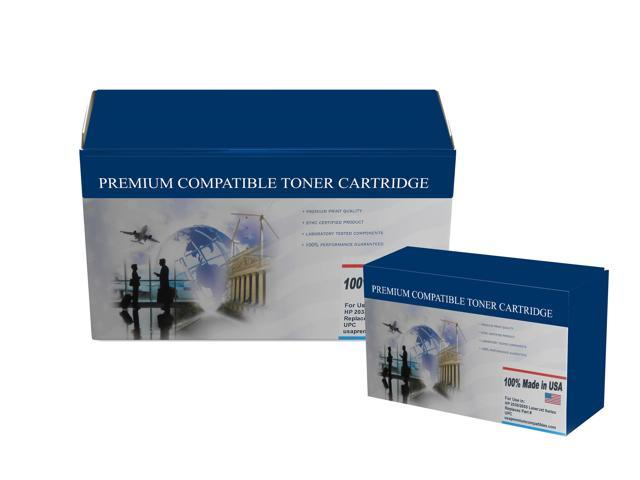 USA Premium Compatible - Compatible Toner Cartridge for HP 643A Cyan