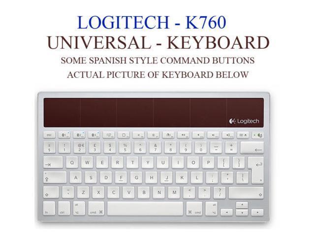 Logitech K760 Wireless Bluetooth Solar Keyboard For Mac/iPad/iPhone--Best Market
