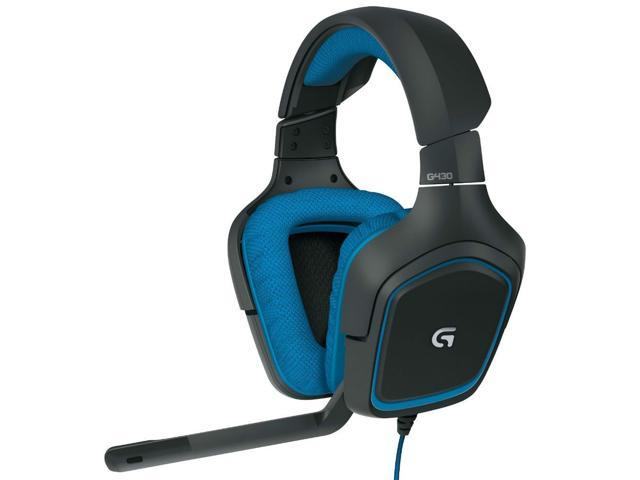 Logitech G430 Gaming Headset with Dolby 7.1 Surround Sound--Best Market