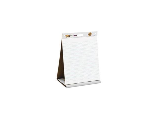 Self-Stick Tabletop Easel Ruled Pad, Command Strips, 20 X 23, White, 20 Shts/pad By: Post-it Easel Pads
