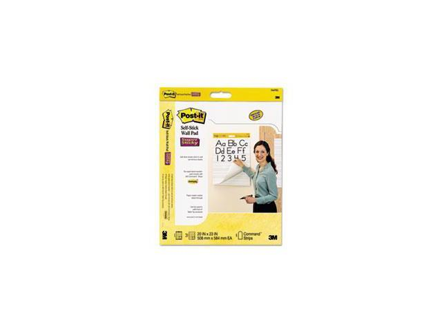 Self-Stick Wall Easel Primary Ruled Pad, 20