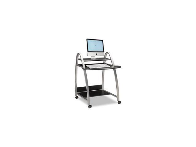 Eastwinds Arch Computer Cart, 31-1/2w X 34-1/2d X 37h, Anthracite By: Mayline