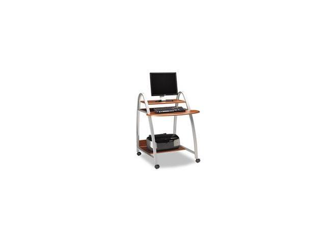 Eastwinds Arch Computer Cart, 31-1/2w X 34-1/2d X 37h, Medium Cherry By: Mayline