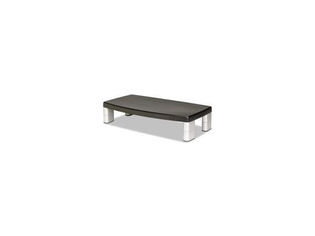 Extra-Wide Adjustable Monitor Stand, Black By: 3M
