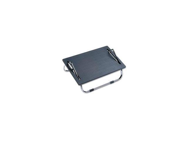 Ergo-Comfort Adjustable Footrest, 18-1/2w X 11-1/2d X 8h, Black By: Safco