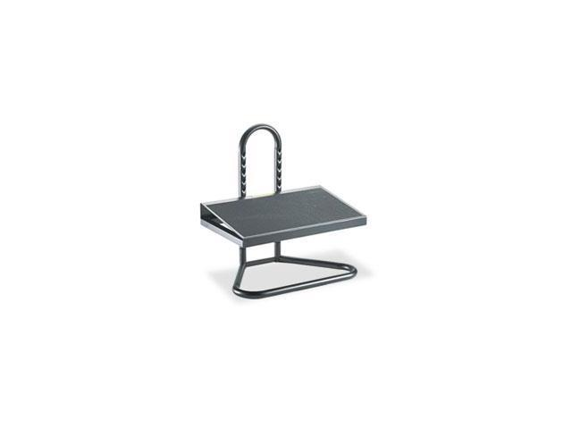 Ergonomic Industrial Footrest, Adjustable Height, 20w X 12d X 5 1/2h-15h, Black By: Safco