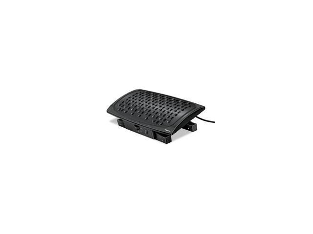 Climate Control Footrest, 16-1/2w X 10d X 5-1/2h, Black By: Fellowes