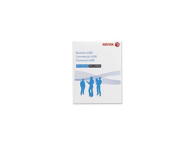 Business 4200 Copy Paper, 92 Brightness, 20lb, 8-1/2 X 11, White, 5000 Shts/ctn By: Xerox